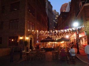 rue de la soif version Wall Street
