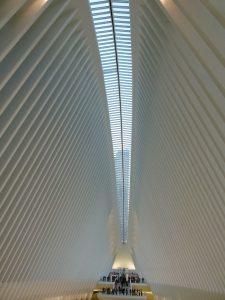 l'intérieur de Port Authority Trans-Hudson
