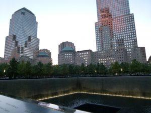 mémorial aux victimes des attentats du 11 septembre 2001